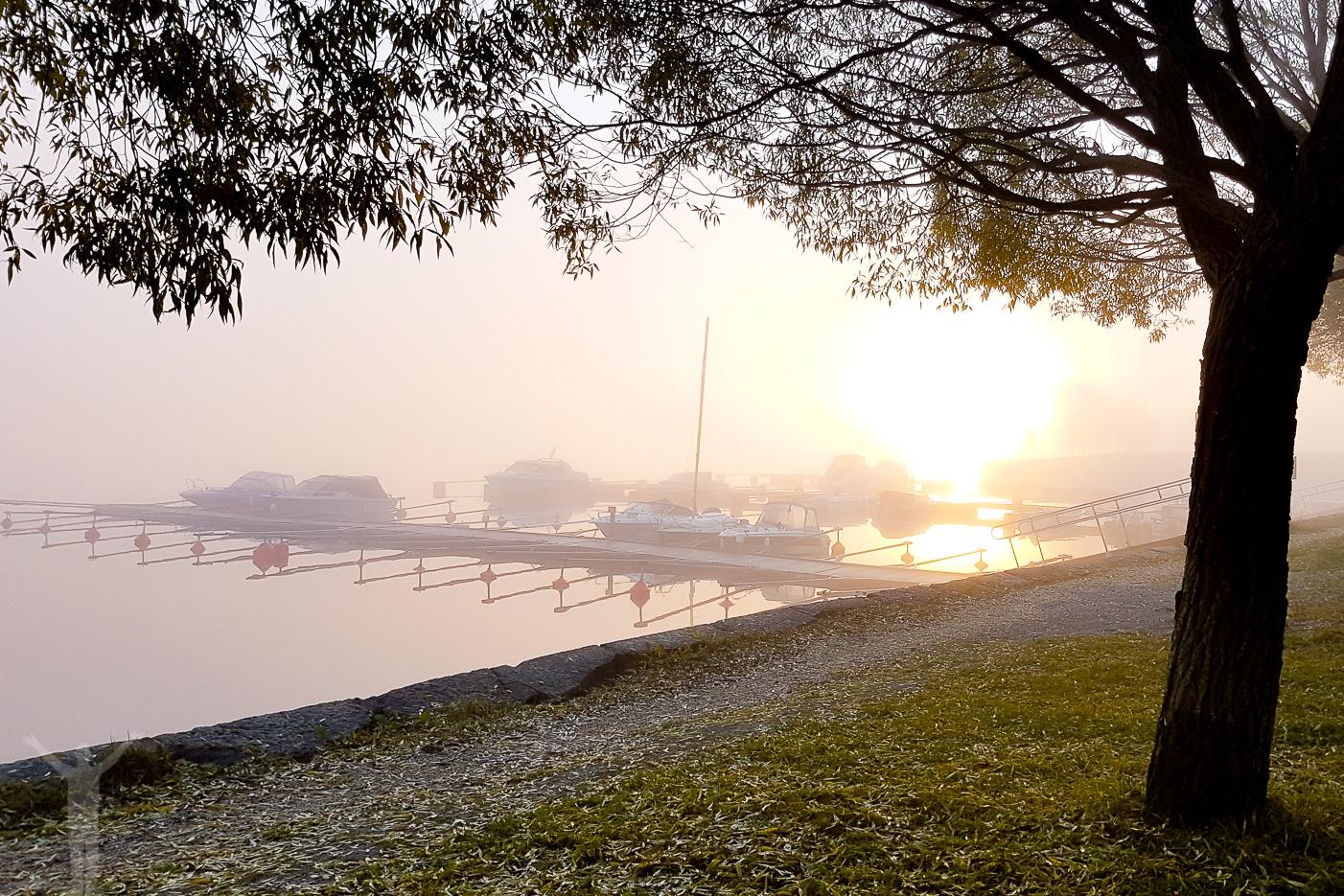 Höstmorgon på Frösön