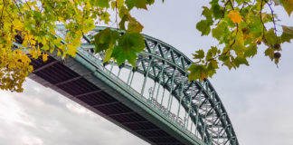 Bro över Tyne i Newcastle