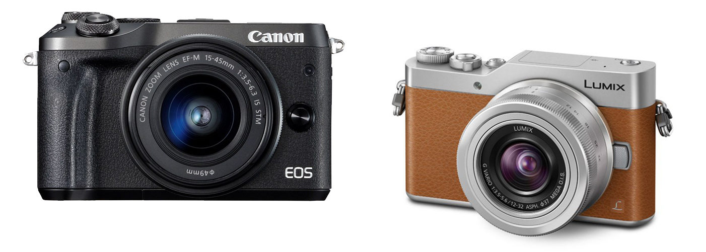 Canon M6, Panasonic GX800
