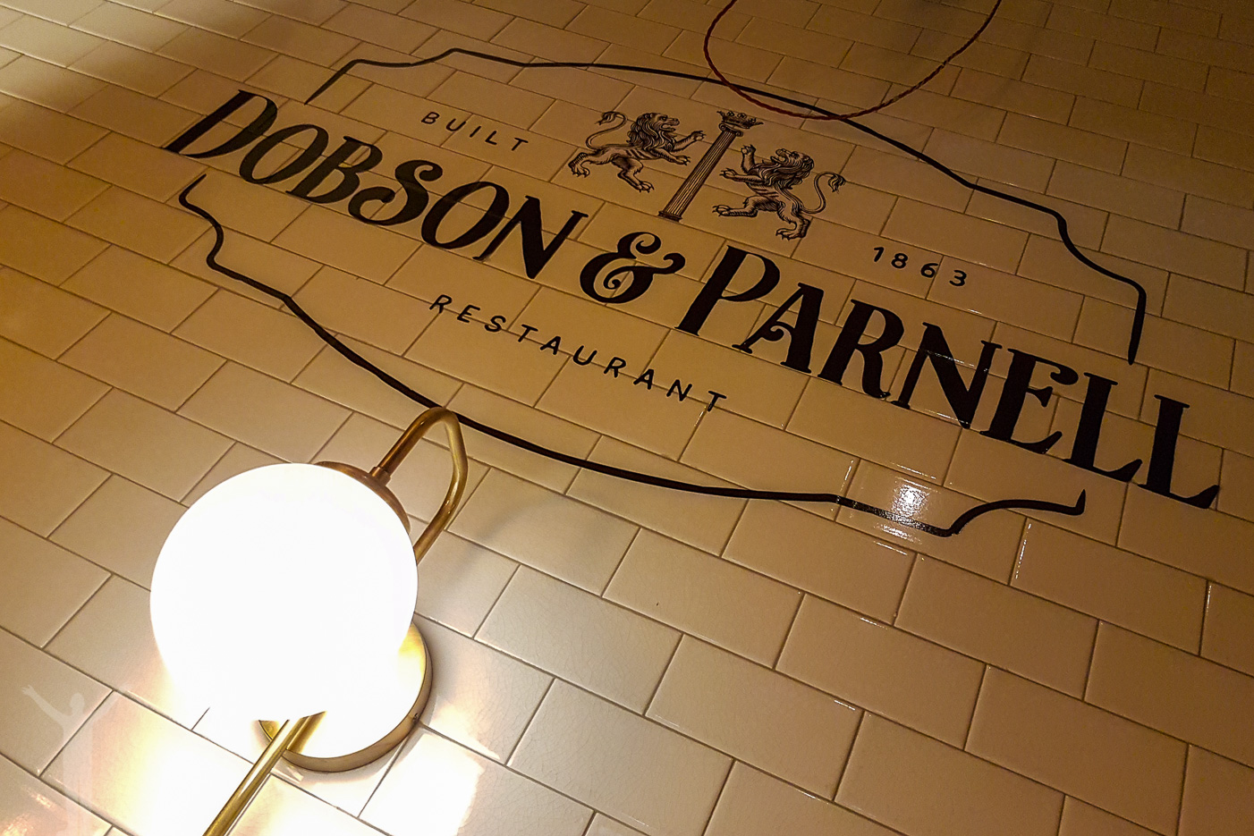 Dobson and Parnell, restaurang i Newcastle