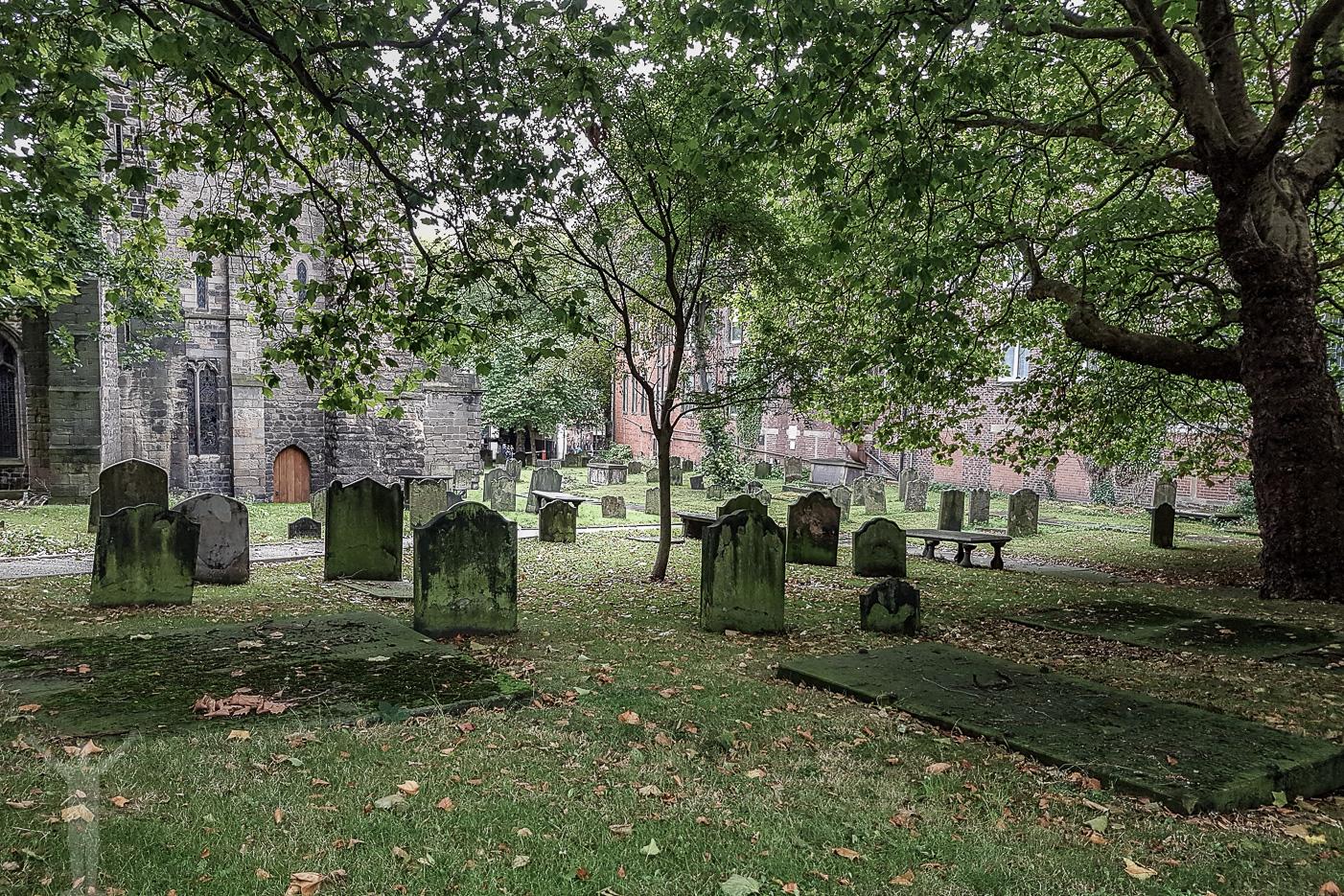 Kyrkogård i Newcastle