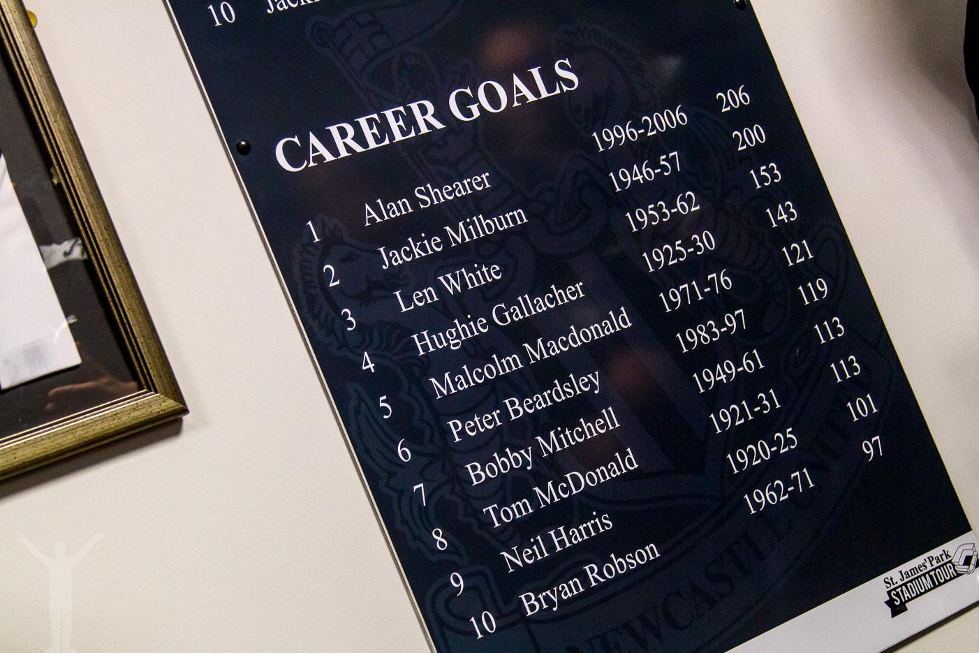Legendarer i Newcastle