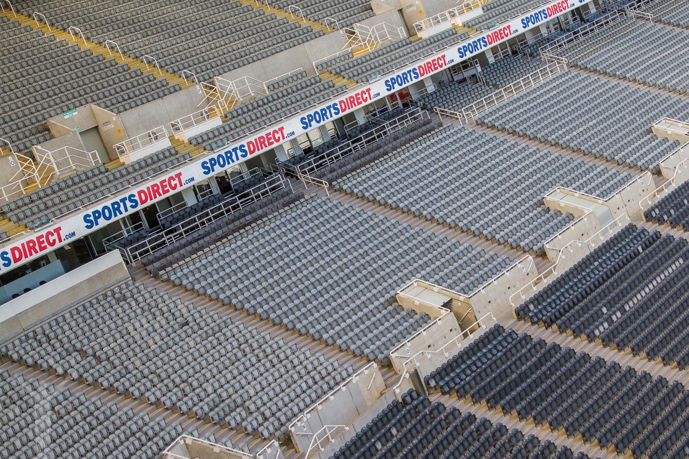 Sittplatser på St James' Park