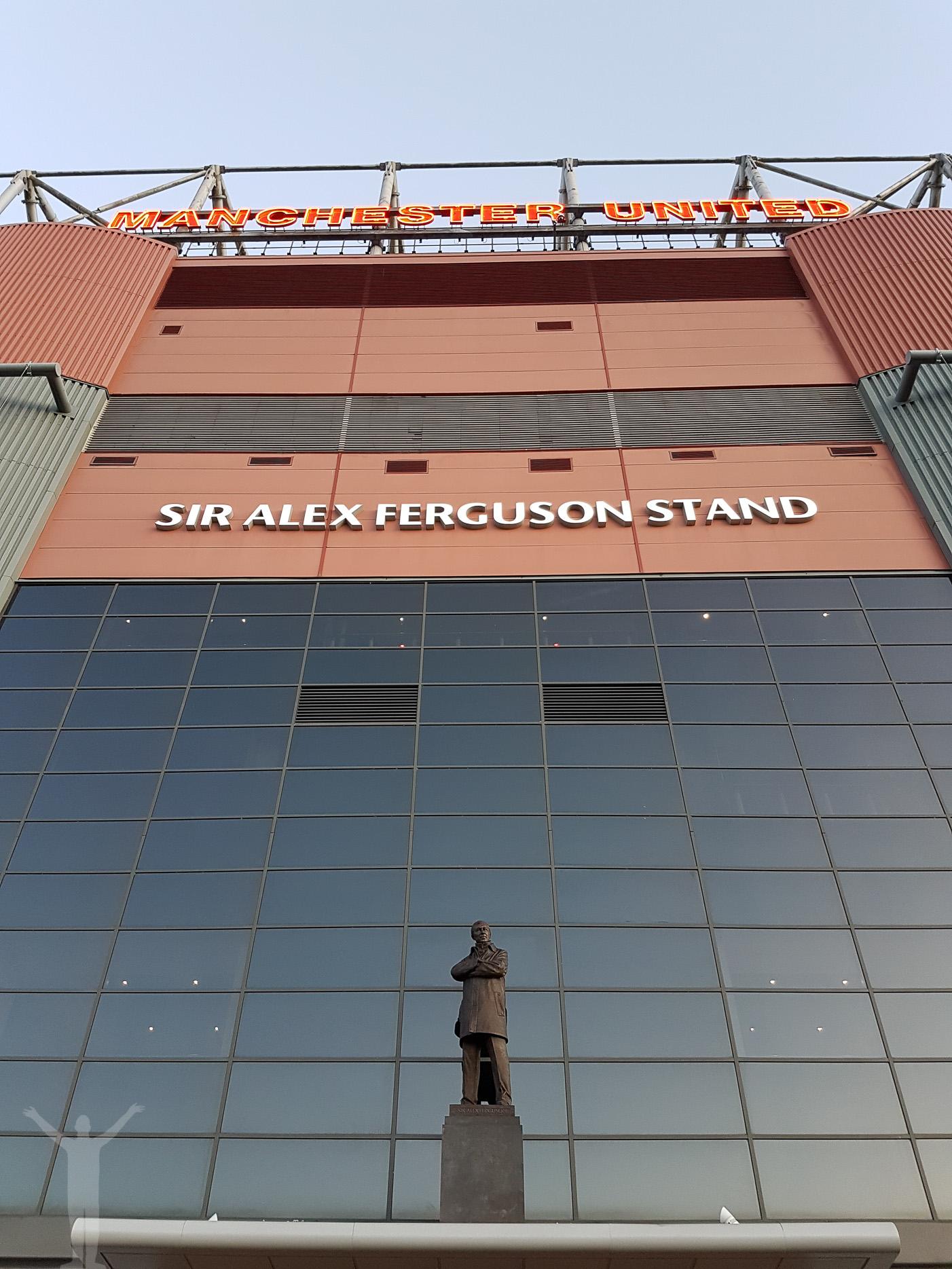 Entré till Sir Alex Ferguson Stand