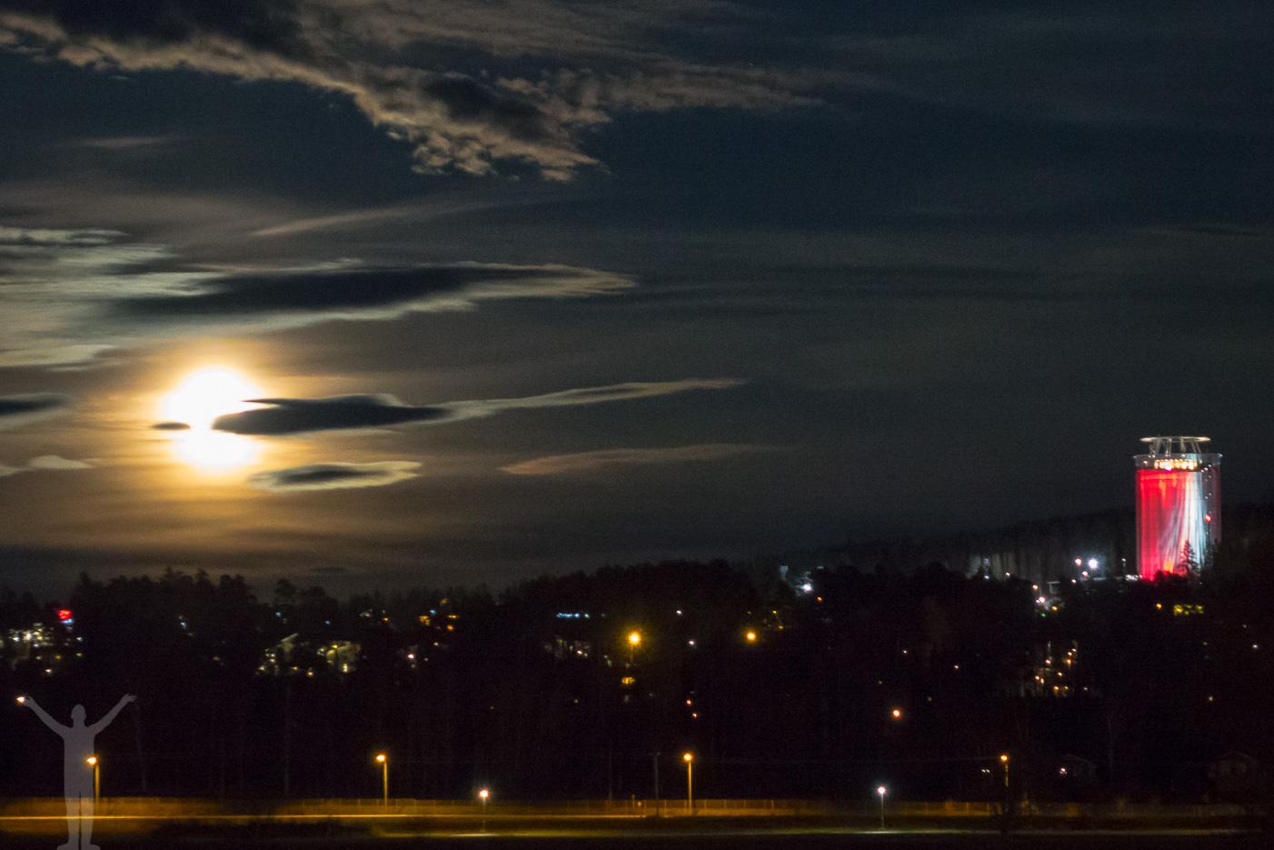 Månsken över Frösön
