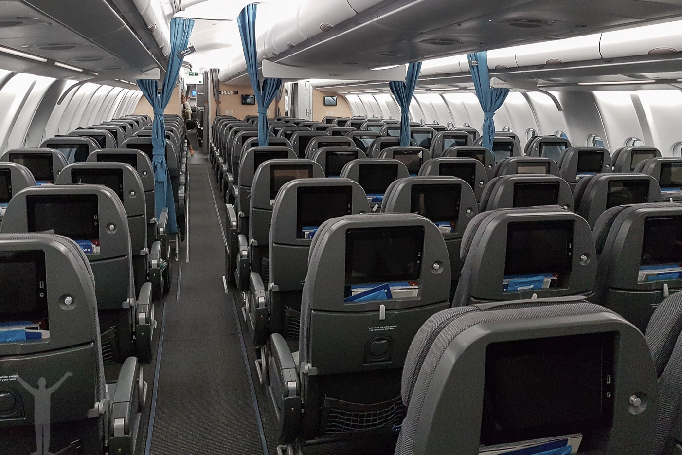 SAS Go-kabin - en lång flygresa med SAS