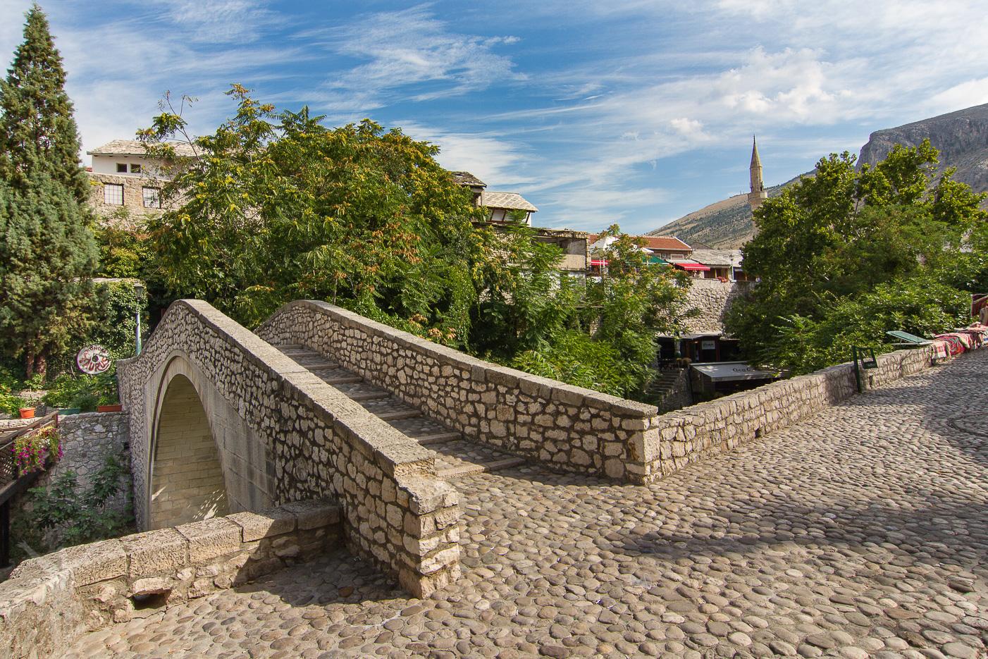 En liten bro i Mostar