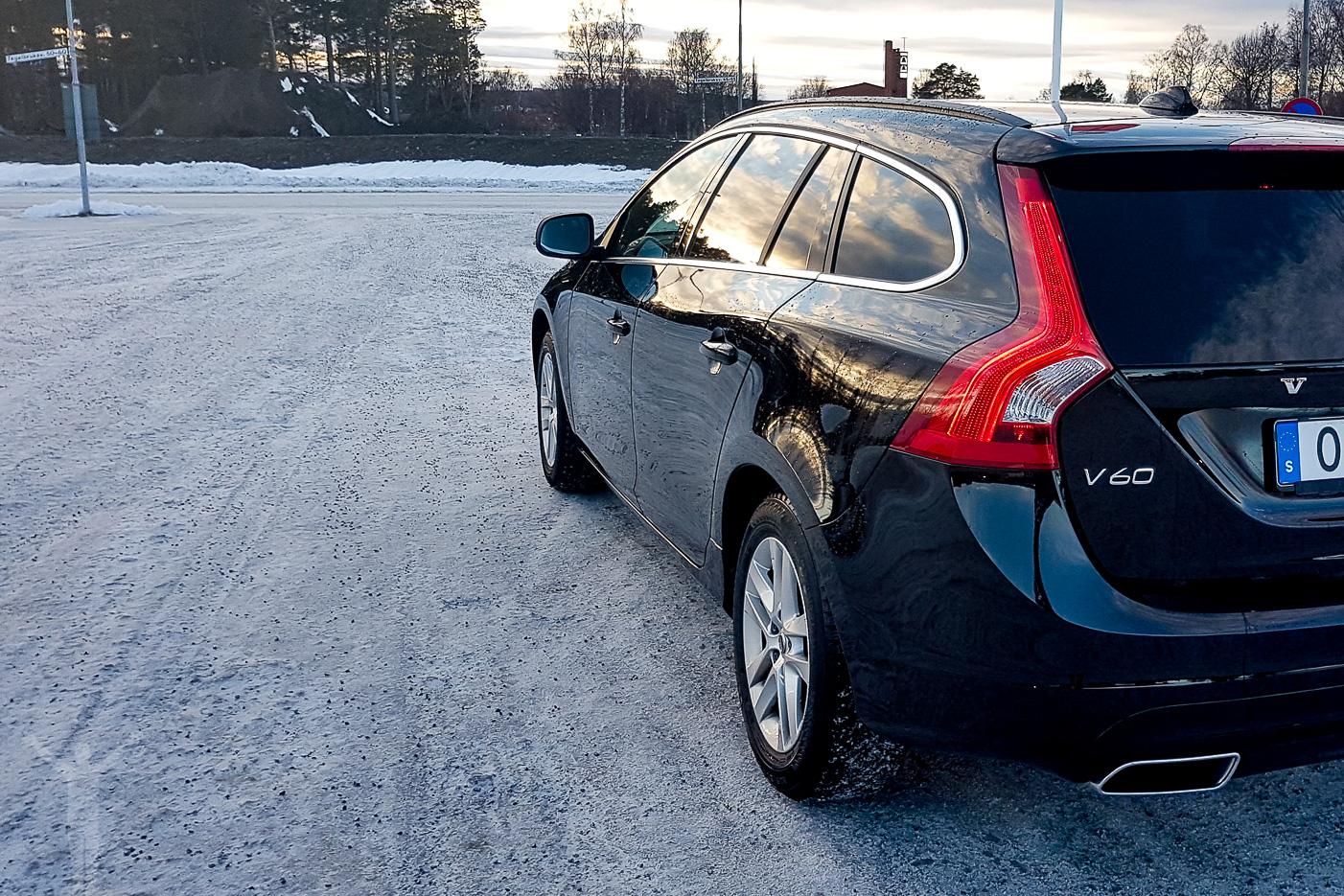 Nytvättad Volvo V60