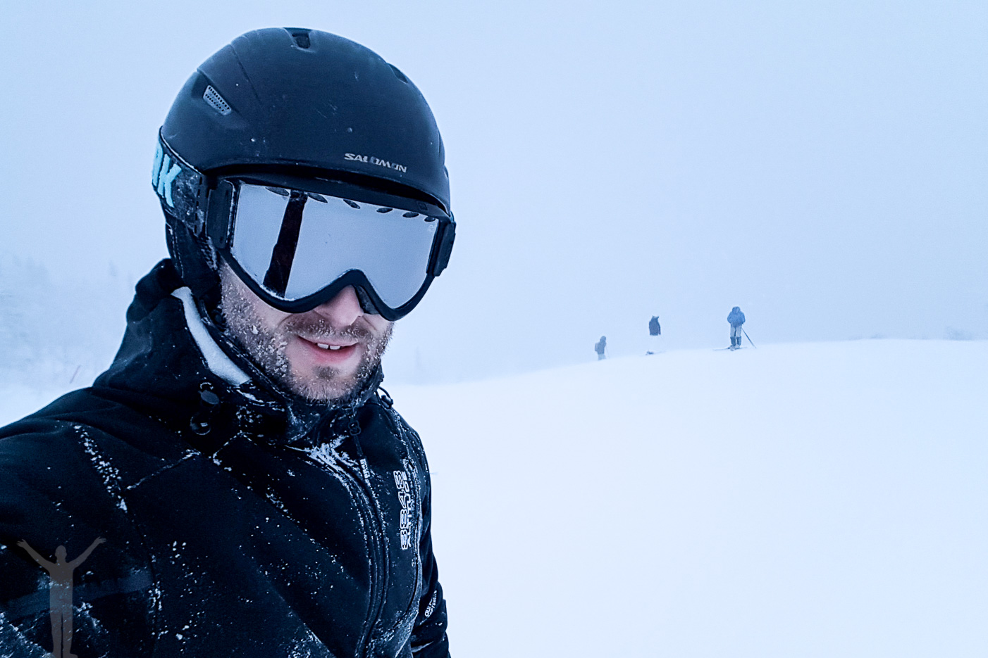 Dryden åker skidor i Åre