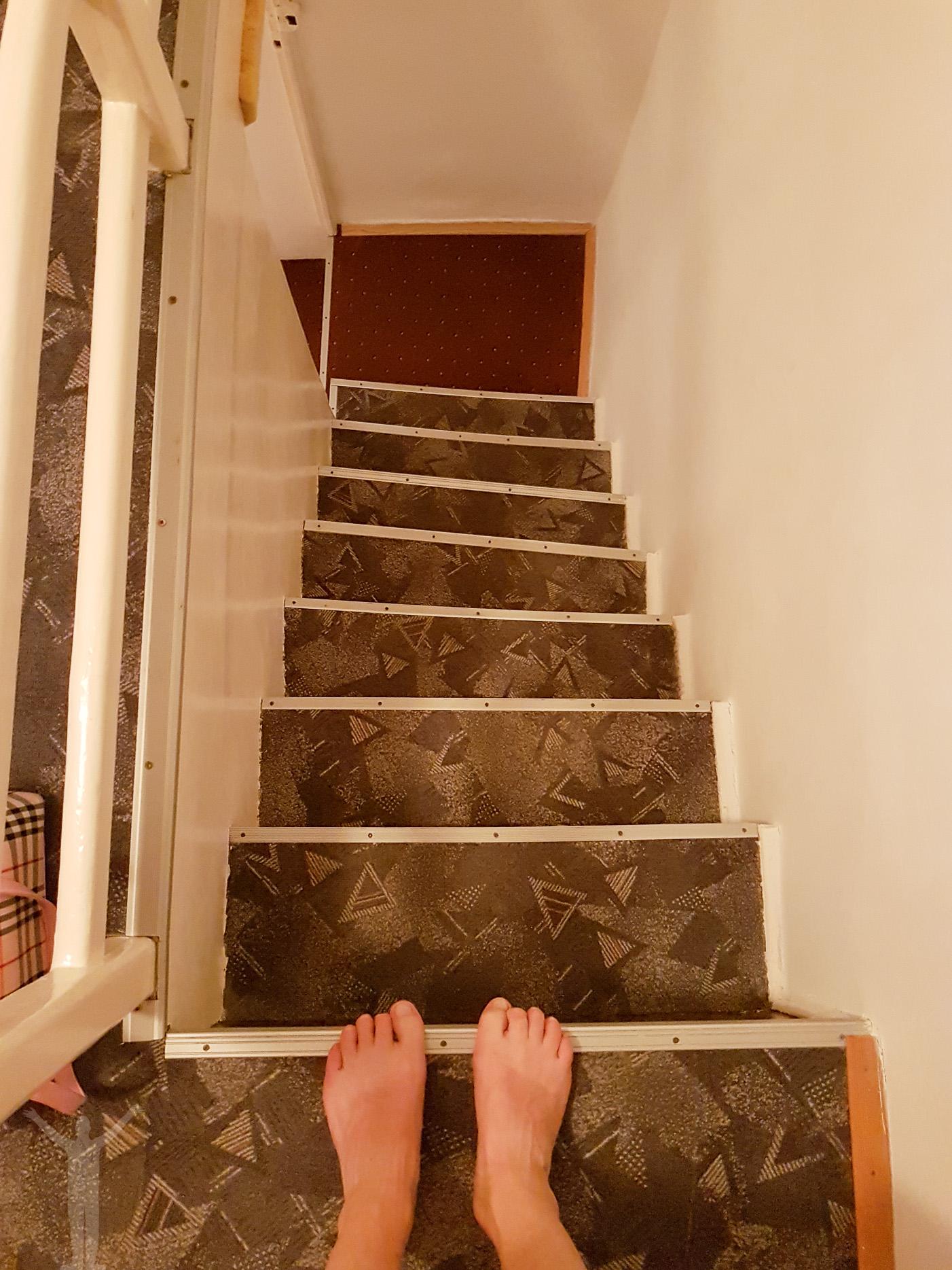 Trapporna i lägenheten i Split