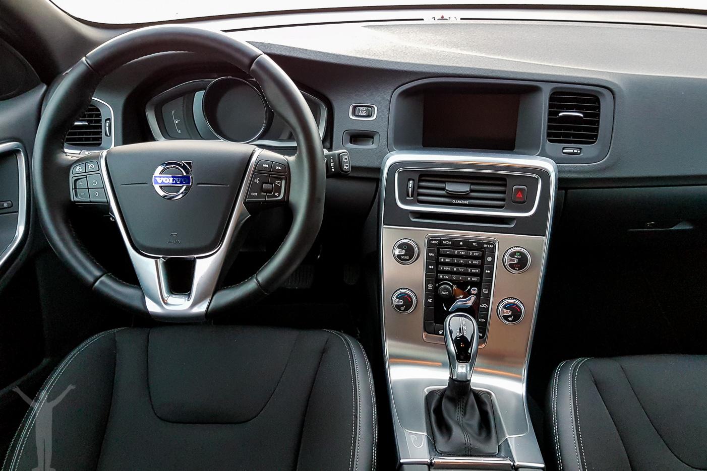 Volvo V60 interiör