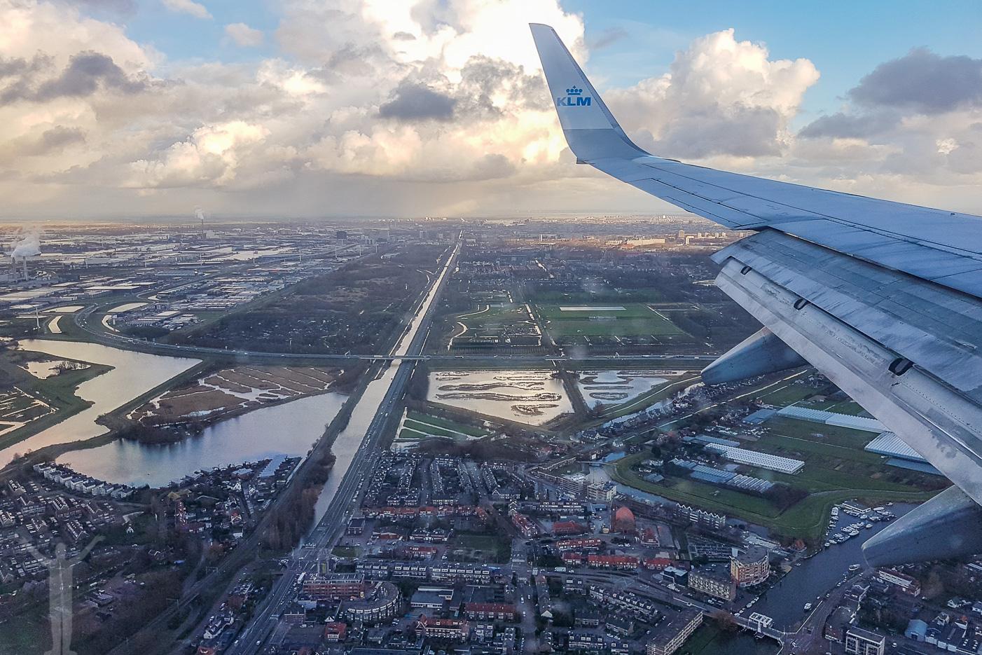 Att flyga med KLM från Stockholm till Amsterdam