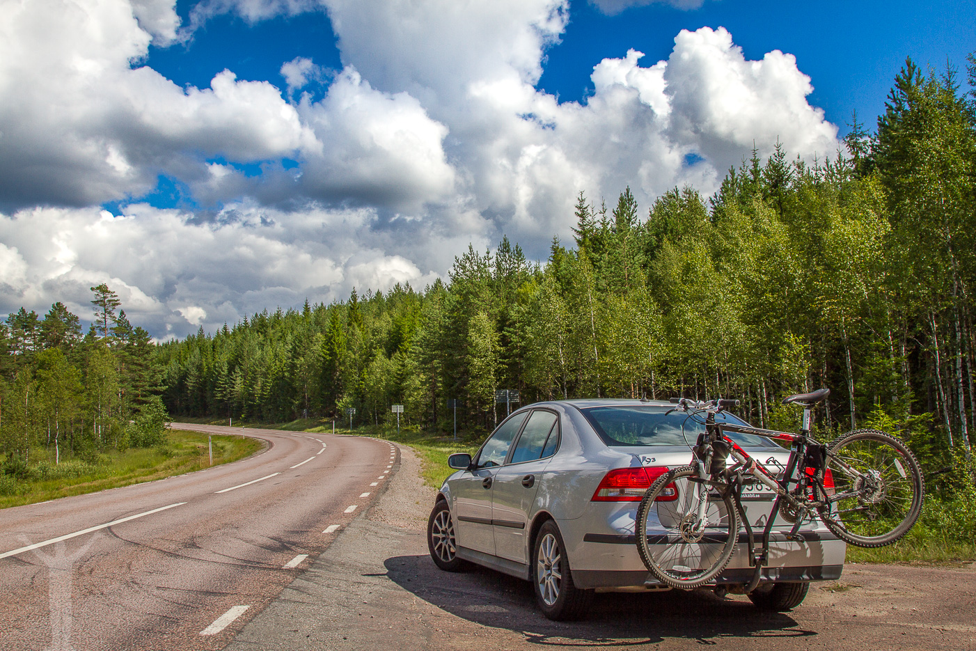 Roadtrip längs E45:an, norrut mot Östersund