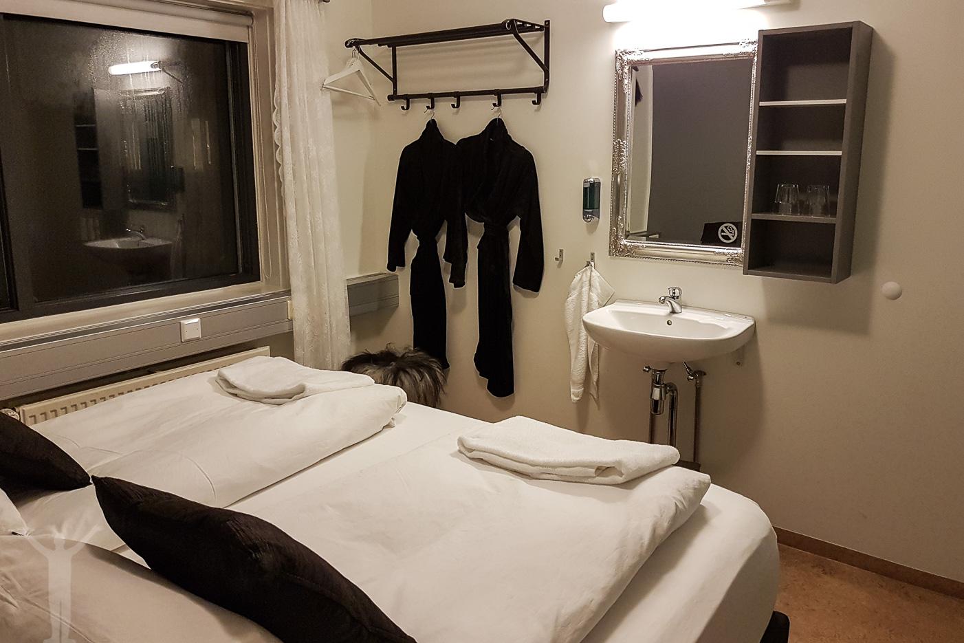Skjaldarvik Guest House - rummet