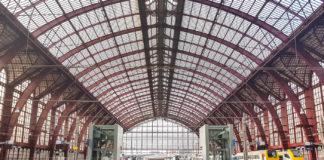 Tågstationen i Antwerpen