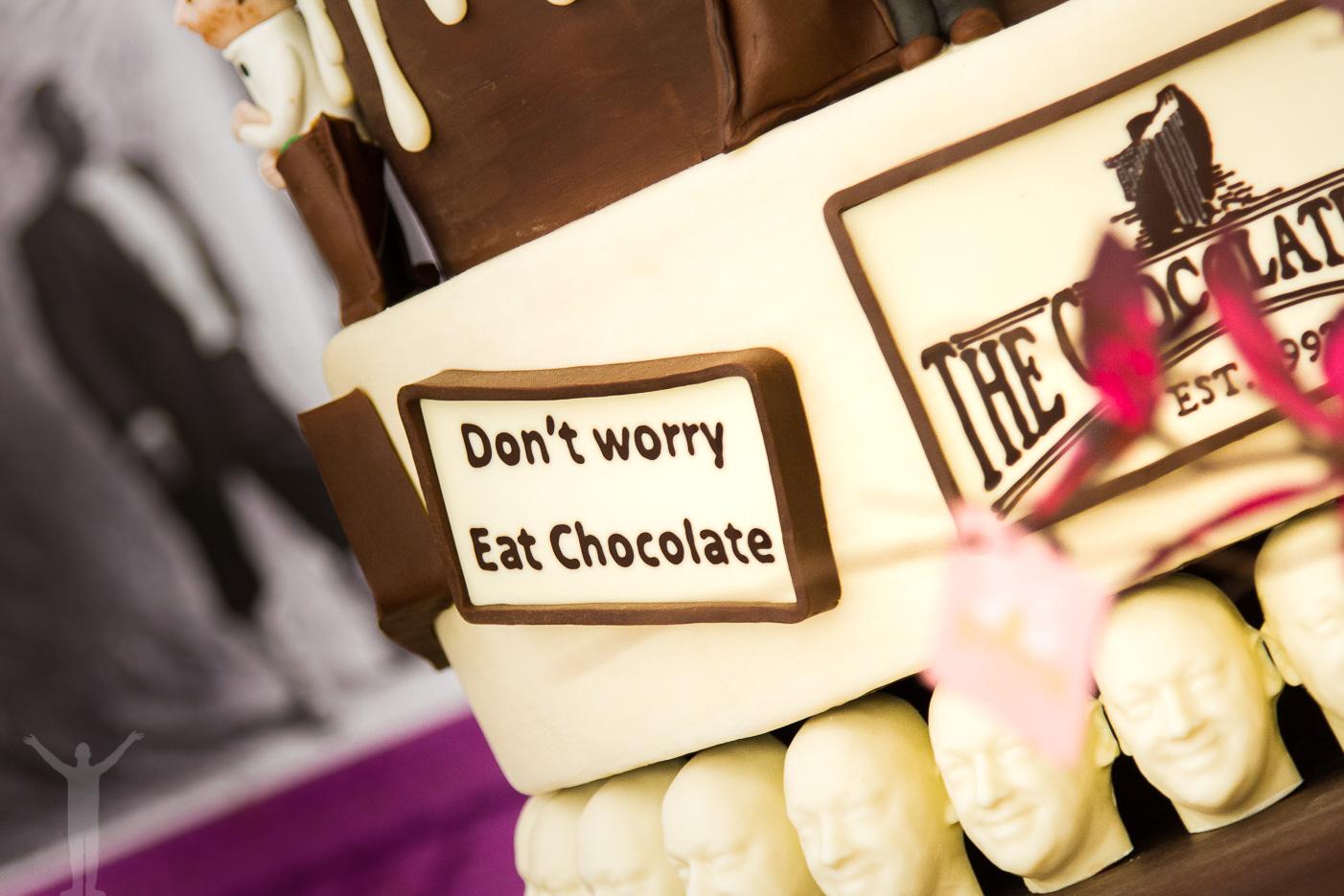Ät choklad i Antwerpen