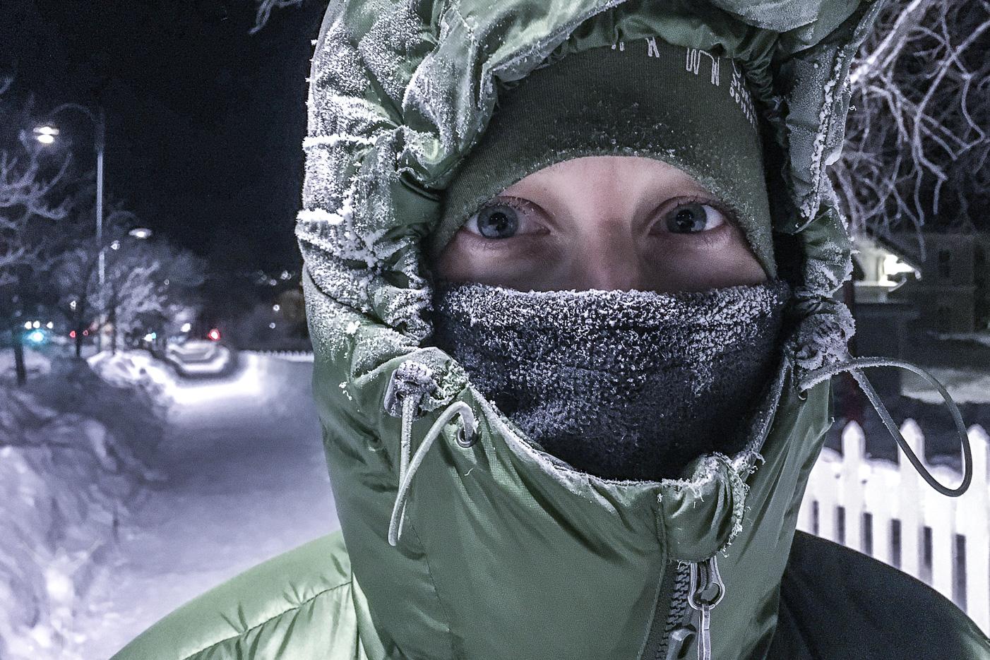 -25°C i Östersund