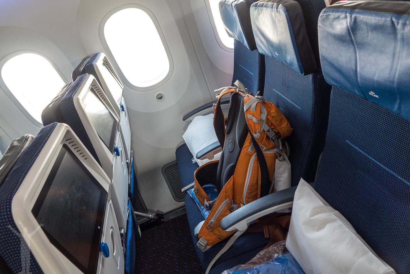 KLM Dreamliner 787-9 Ekonomi