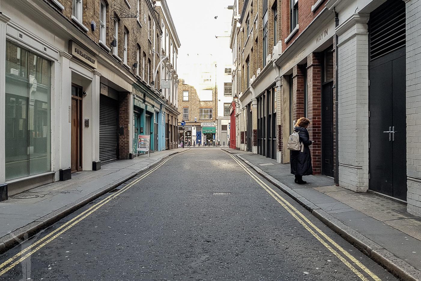 Dryden Street - Londons trendigaste gata?