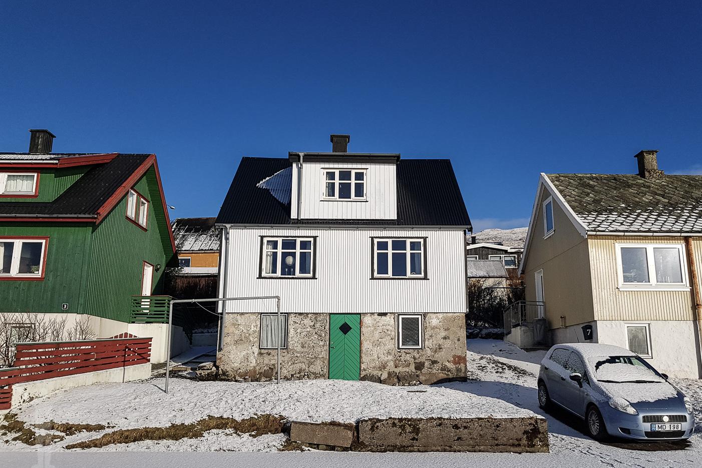 Eget hus på Färöarna, i Miðvágur, hyrt via Airbnb