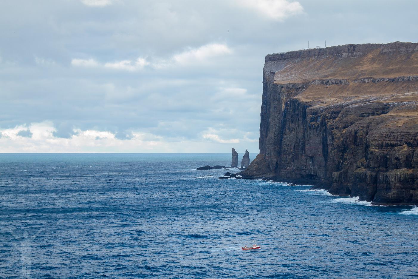 Branta klippor på Färöarna