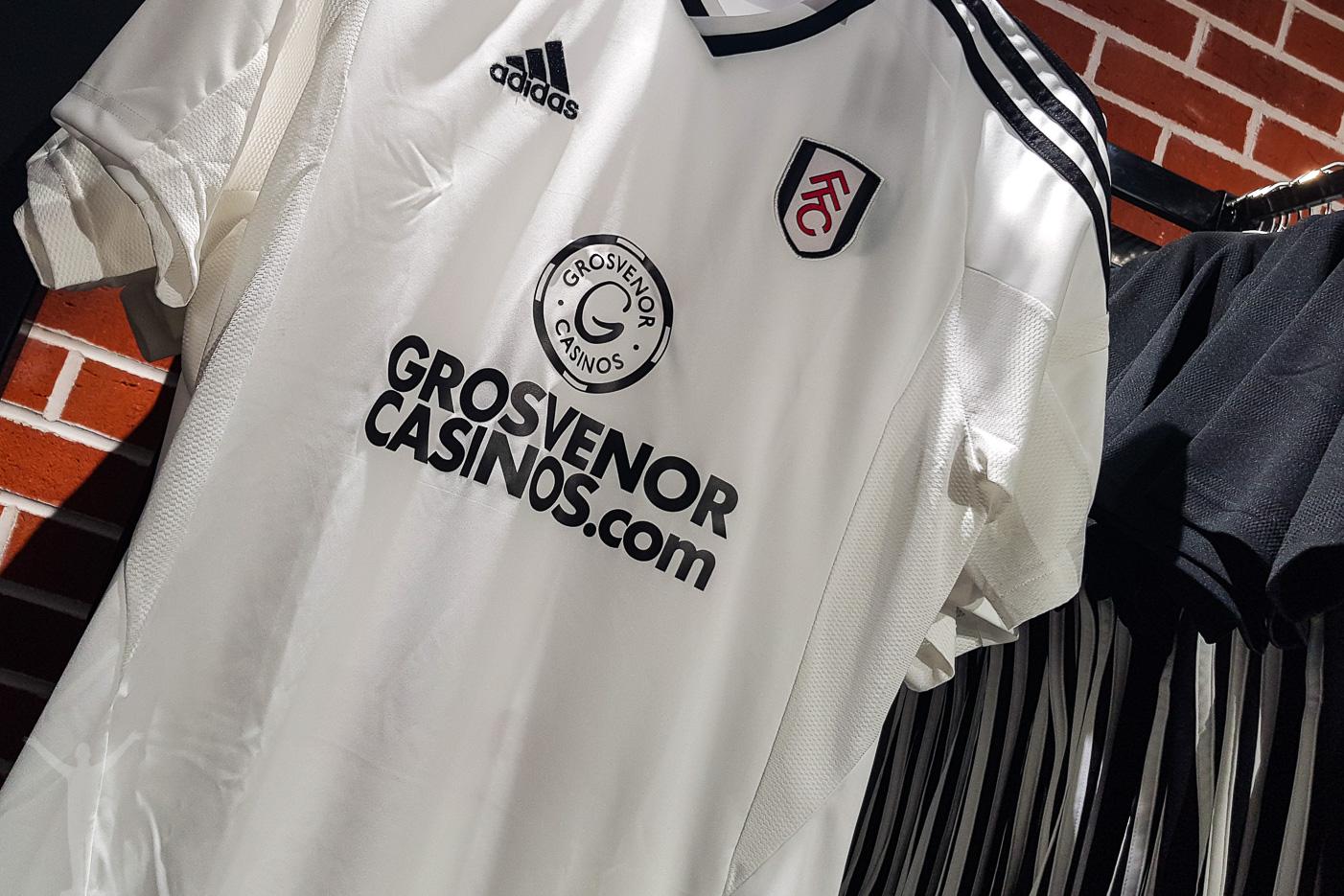 Fulham - matchtröja