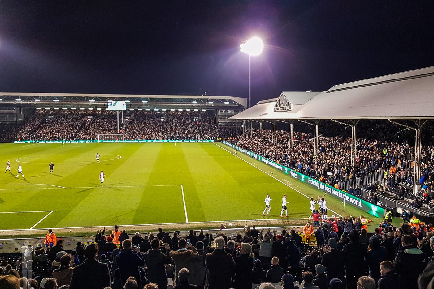Fulham har gjort mål