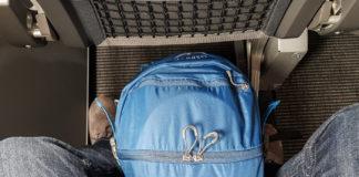 Handbagage som enda väska