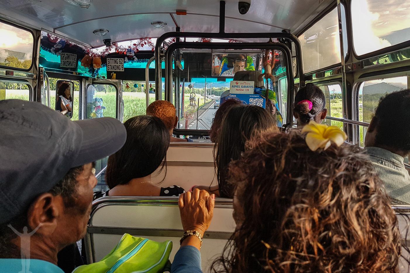 Lokalbuss på Mauritius
