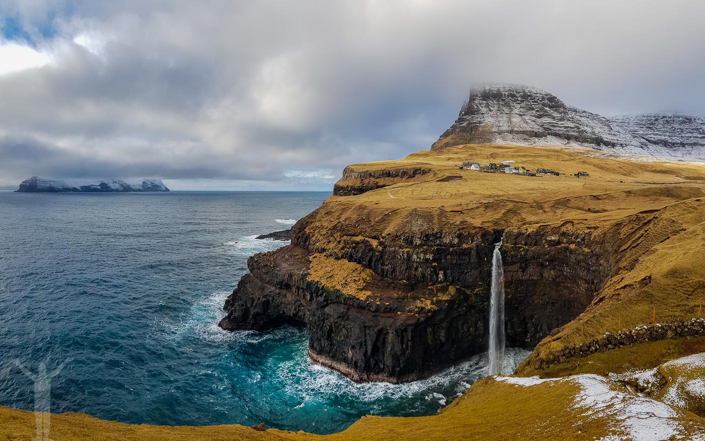 Mulafossur på Färöarna