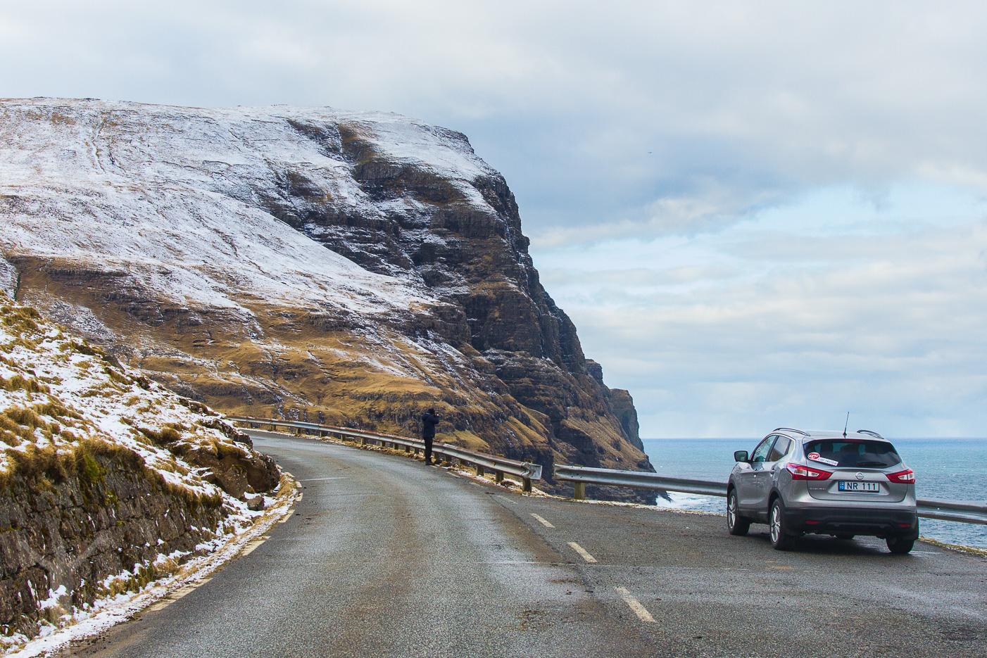 Roadtrip till Tjørnuvik, Färöarna