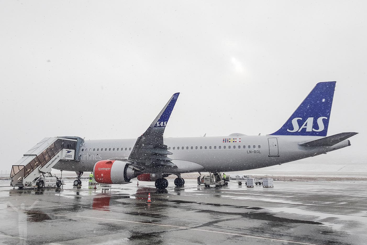 SAS A320neo - LN-RGL