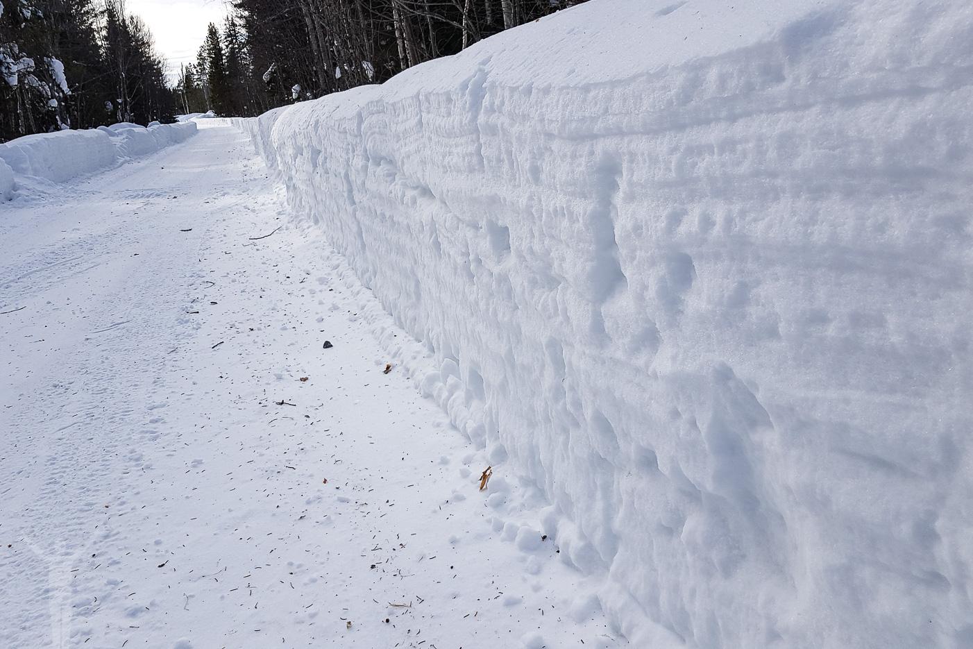 Så mycket snö!