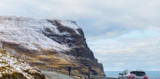 Tjørnuvik på Färöarna