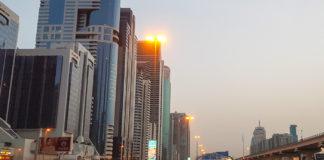 Gryning i Dubai