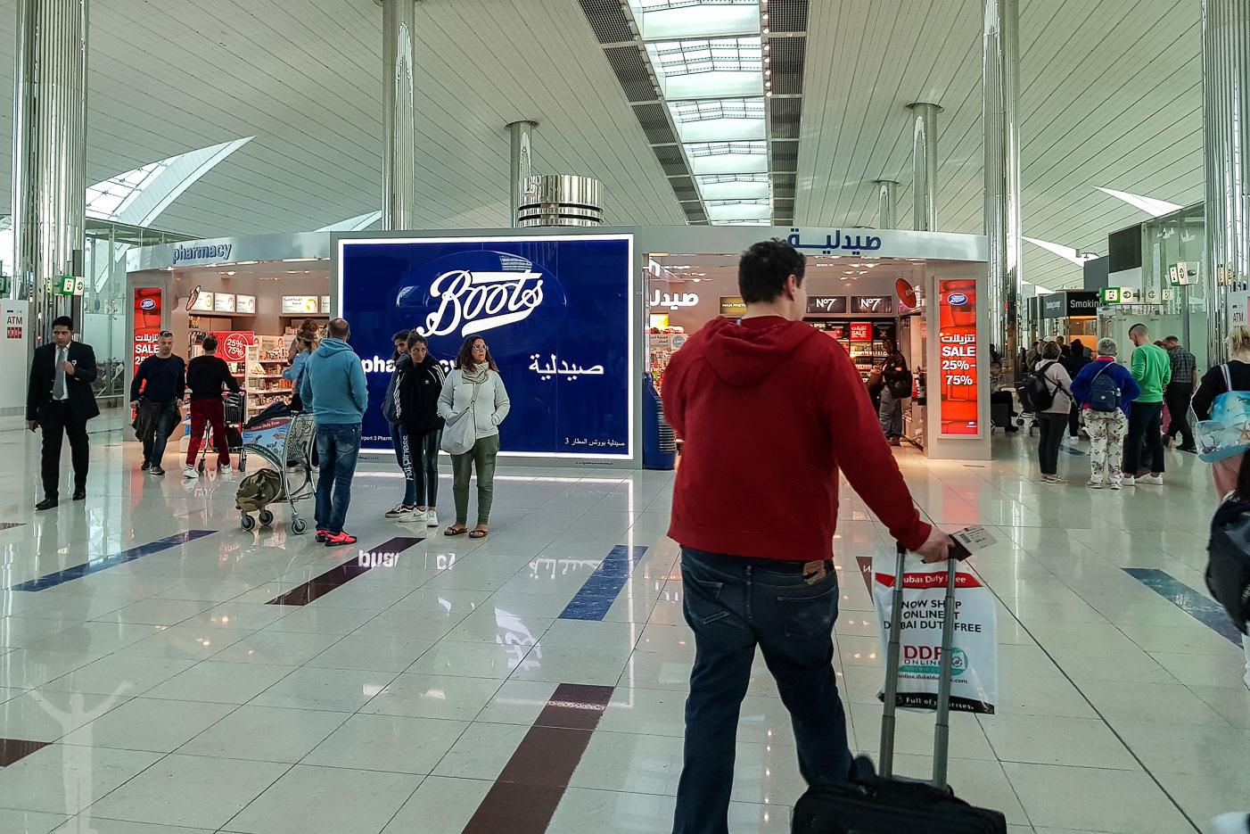 Dubai DXB Terminal 3