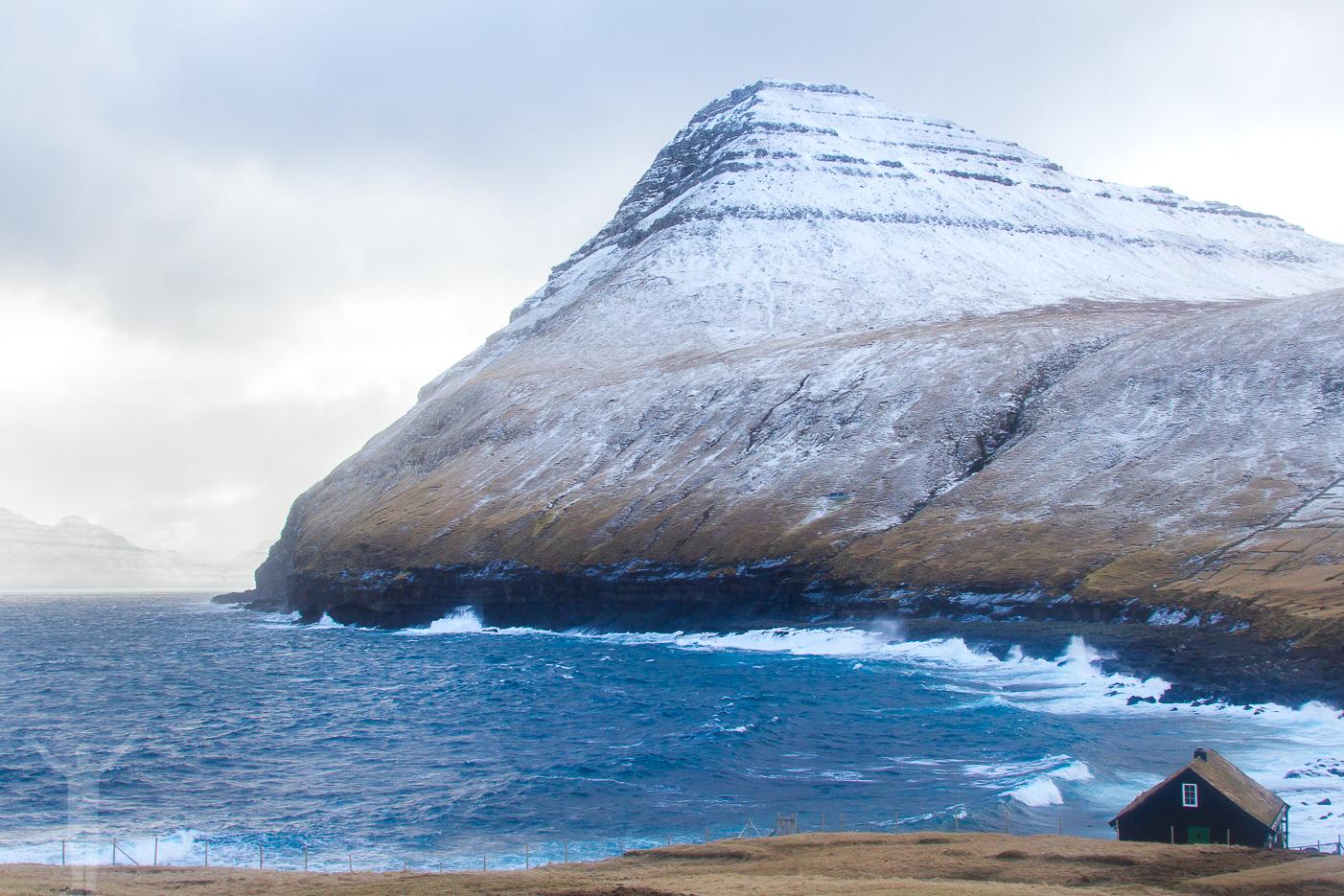 Gjógv på norra Färöarna