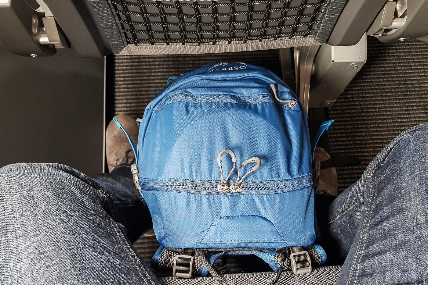 Hikelite 18 från Osprey som handbagage