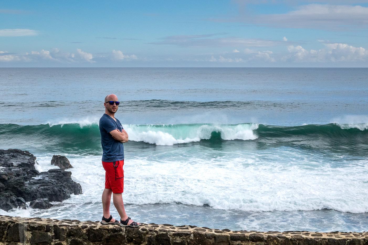 Dryden på Gris Gris på Mauritius