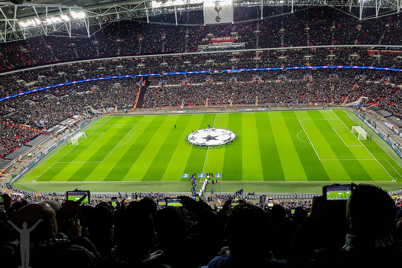 Champions League på Wembley i London