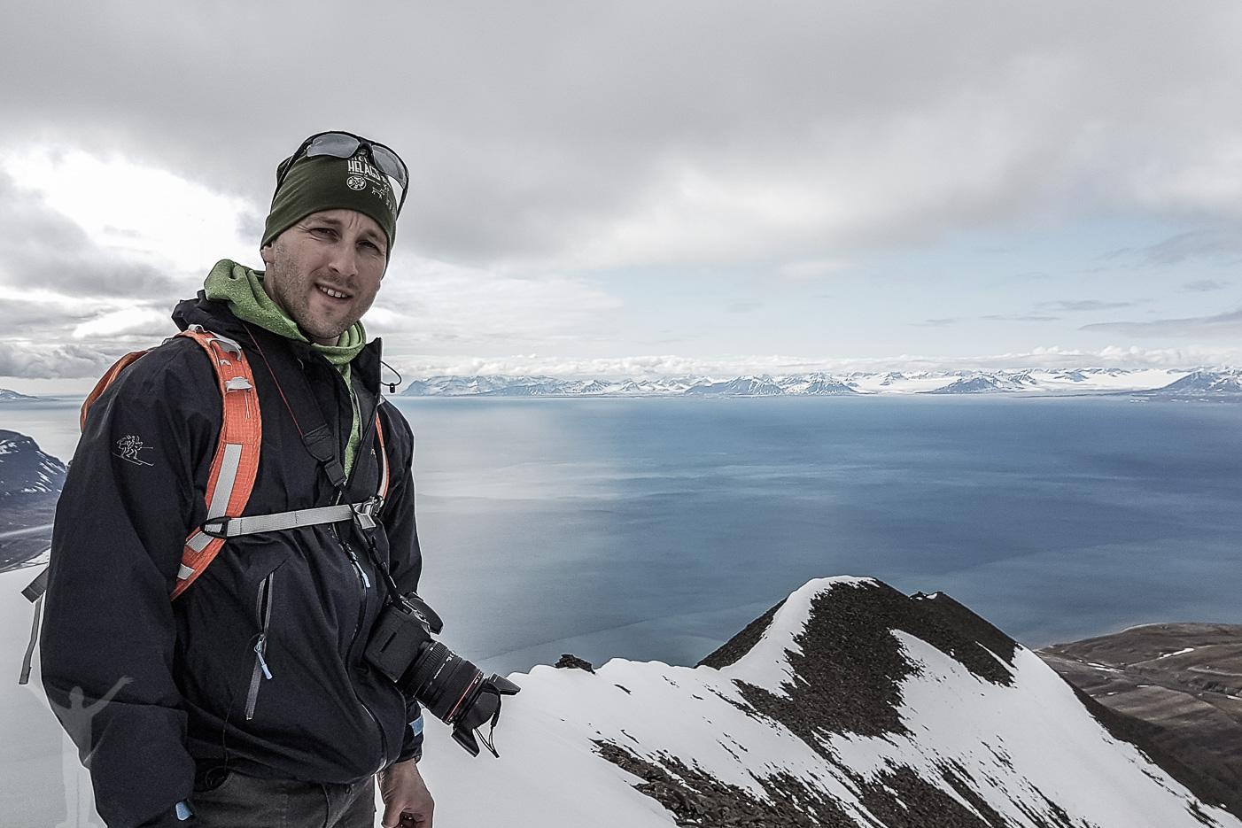 Adventtoppen på Svalbard