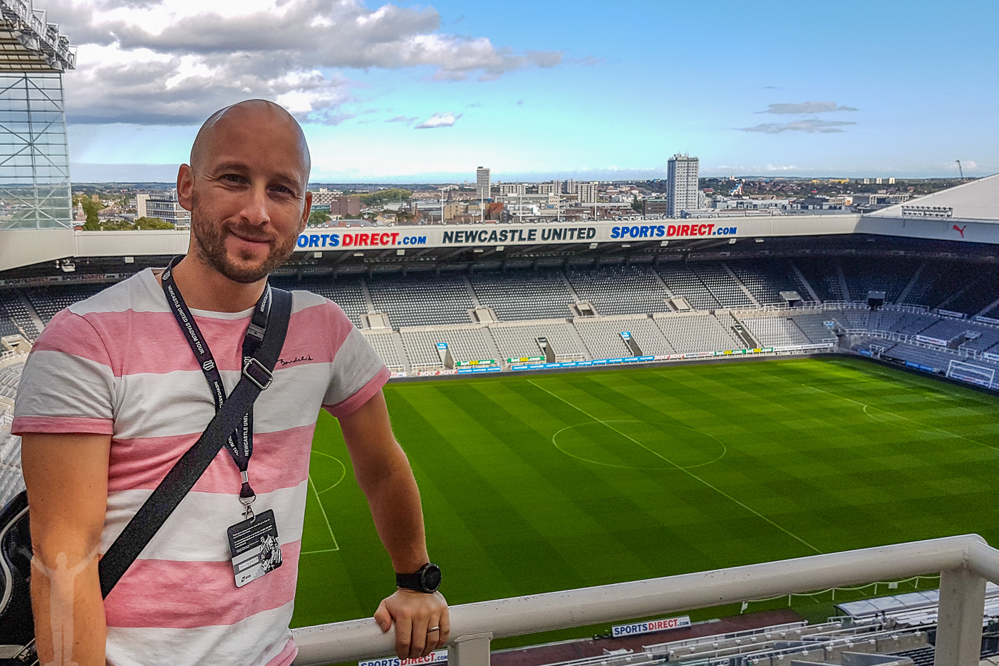 St James' Park i Newcastle