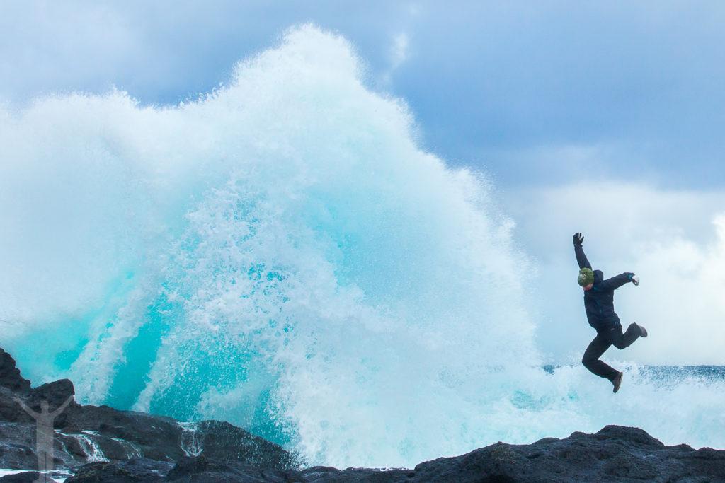Färöarnas dramatiska vågor