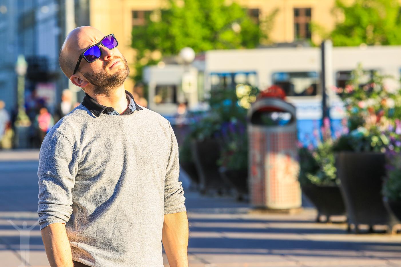 Solnjutning i Göteborg