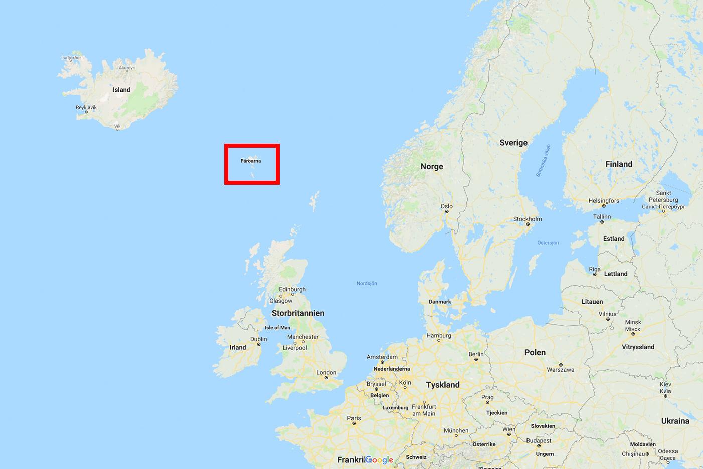 Färöarna - överblick