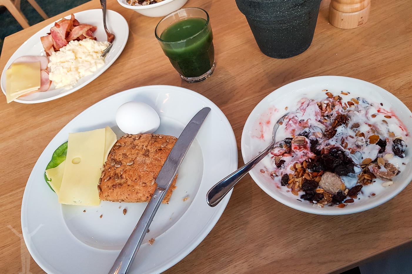 Frukost på Scandic Crown i Göteborg