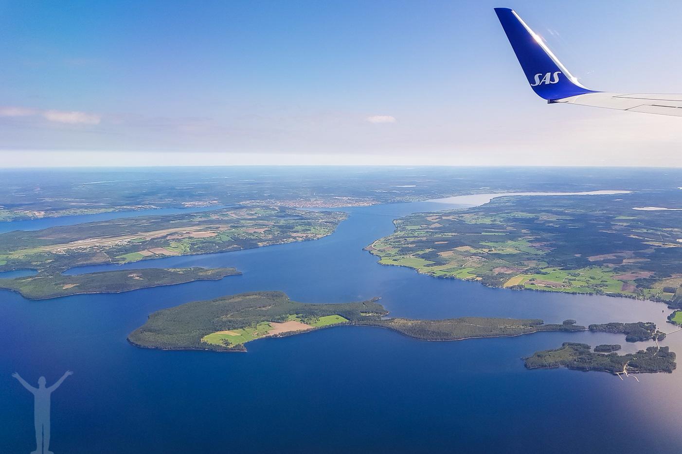 Storsjön, Andersön, Frösön och Östersund