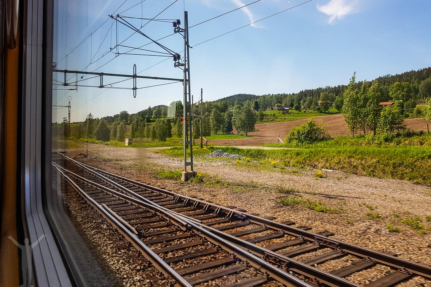 Utsikt från tåget