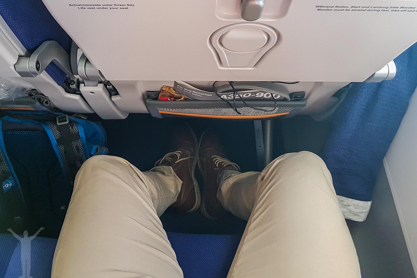 Benutrymme på Lufthansa A350