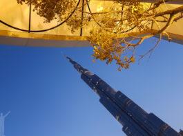 Burj Khalifa i skymningen
